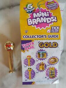 Zuru Mini Brands Super Rare Gold Pez
