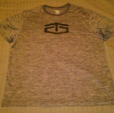 BRAND NEW Grey Tapout Mens Size XXL  Burn Crew Moisture Great Wicking For Summer