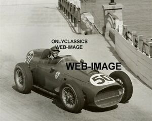 1959 DRIVER TONY BROOKS FERRARI FORMULA ONE GRAND PRIX AUTO RACING MONACO PHOTO