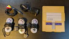 Original Super Nintendo SNES Console plus 3 controllers - tested, working!