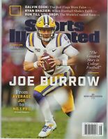 Sports Illustrated December 2019 Joe Burrow - QB- LSU Tigers- Heisman -Newsstand
