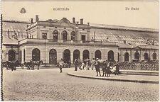 KORTRIJK - DE STATIE - STAZIONE FERROVIARIA (BELGIO)