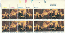 Scott #1691/4...13 Cent...July 4, 1776...Plate Block of 16 Stamps