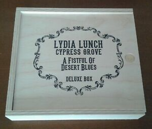 LYDIA LUNCH & CYPRESS GROVE - A Fistful of Desert Blues  DELUXE BOX CD + DVD