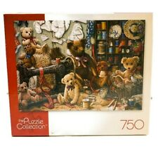 The Puzzle Collection 750 Piece Teddy Bear Workshoppe Jigsaw Puzzle Collectable