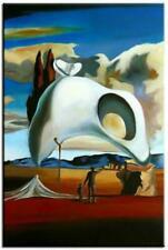 90x60cm-Ölbild handgemalt Leinwand Signiert G06607 Salvador Dali