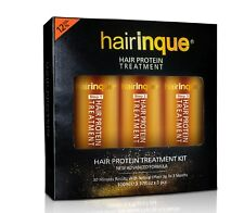 HAIRINQUE 12% Keratin Hair Treatment and Deep Cleaning Shampoo and Regenerative
