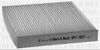 BFC1021 BORG & BECK CABIN AIR FILTER fits Toyota Rav 4/Yaris 06- NEW O.E SPEC!