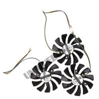 3pcs/set for Sapphire R9 270X/280X/290/290X Vapor-X OC 85mm 4pin PWM cooling fan