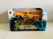 NEW MUSCLE MACHINES VAN HELSING GM DIE-CAST 1:24 CAROLINA CRUSHER FREE SHIPPING