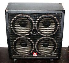 "Peavey 412-MS Sheffield 4-12"" Speaker Cab Bass/Guitar Amp Enclosure Cabinet"