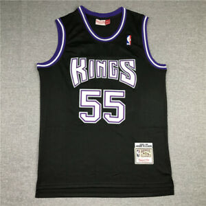 Jason Williams Sacramento Kings Black 1998-99 Hardwood Classics Swingman Jersey