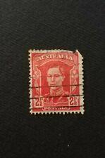 AUSTRALIA STAMP Sello George VI 1938  2 1/2