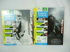 Trapper Keeper Star Wars Force Awakens 2 Binder Pocket Folder and 5 Tab Dividers