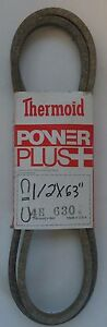 """Thermoid V-Belt 4H-630 Replaces M112006 M86422 M91147 11635 21058 (1/2""""X63"""")"""