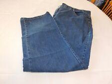 JMS Just My Size Women's pants Denim Size 24W Short Zipper Fly Blue Jeans GUC