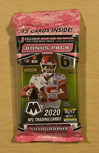 2020 Panini Mosaic NFL Football Cello Pack ✅ New & Sealed