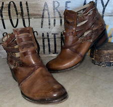 Freebird by Steven Stair Booties Ankle Boots Brown - Size 8