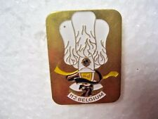 Lions Club Pin 112 Belgium Vintage Rare Pin Made by  Nelen Gent Liege Brussels