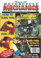 Classic & Motorcycle Mechanics Magazine  Suzuki GS550 2-Stroke Twin Yamaha YDS-2