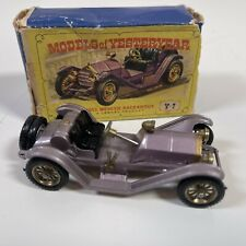Matchbox Yesteryear Y 7 -2  Mercer Raceabout Type 35J 1913 Mauve BOXED #2
