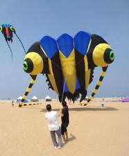 new16sqm soft kite 3D Huge Soft Giant Trilobites Kite Outdoor Sport Easy to Fly