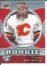 2007-08 Upper Deck UD Hockey Mini Jersey Collection MATT KEETLEY #109 Rookie