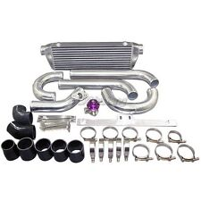 "CX Intercooler 2.5"" Polished Alum Piping kit For MazdaSpeed3 DISI FMIC Turbo"