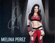MELINA WWE DIVA SIGNED AUTOGRAPH 8X10 PHOTO #1 W/ PROOF