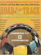 Road & Track 1973 Oct stationwagon jensen vw thing race