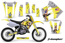 AMR Racing Suzuki RM 125 1992 RM 250 89-92 Graphics Kit Bike Decal Sticker TBY
