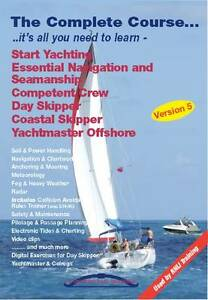 The Complete Course DVD  RYA Competent Crew Day Skipper Yachtmaster Offshore