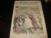 1900 TRIBUNA ILLUSTRATA SUICIDIO CARNEVALE ROMA ERITREA MORTE MANLIO GARIBALDI
