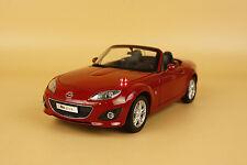 1/18 China Mazda MX5 MX-5 die cast model red color