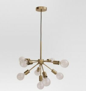 New Project 62 Target Menlo Asterisk Brass Ceiling Dining Light Retail $177