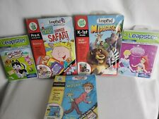 LeapFrog Leapster leapster2 LeapPad MyFirstLeapPad 5-pc Set Hard To Find Titles