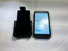 Platinum HTC Thunderbolt Smartphone Protective Case and Holster FREE SHIPPING
