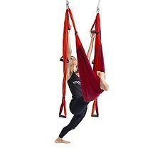 YOGABODY Naturals Yoga Trapeze Yoga Swing Sling Inversion Tool Orange Exercise