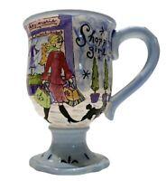 Jennifer Brinley Shopping Girl Coffee, Tea, Cup, Mug