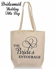 Personalized Wedding Gift Tote- Bridesmaid Maid of Honor  Wedding Favor