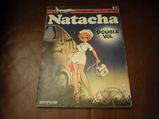 NATACHA N°5 DOUBLE VOL - EDITION ORIGINALE BROCHEE 1976