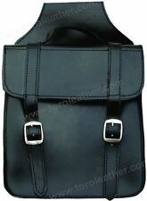 Small Square Throw-Over Leather Saddlebags