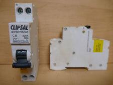 CLIPSAL4RCBE220-30SSINGLE POLE RCD MCB 20A 240VAC