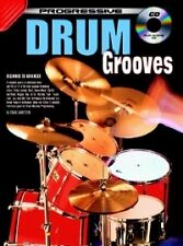PROGRESSIVE DRUM GROOVES Book & CD*
