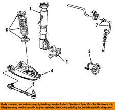 GM OEM Rear Suspension-Hub & Bearing 7470541