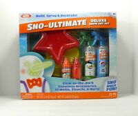 Ideal Sno-Ultimate 21 pc Deluxe Snow Art Set Glow in the Dark Free Shipping