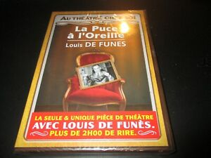 """DVD NEUF """"LA PUCE A L'OREILLE"""" Louis DE FUNES - theatre"""