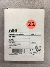 NEW IN BOX ABB MONITORING RELAY 1SVR430100R1200