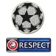 Liga de Campeones Camiseta De Fútbol Soccer Conjunto De Parche insignia de transferencia de hierro UCL respeto