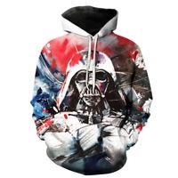 Hot Movie Star Wars Darth Vader 3D Print Hoodie Men Women Casual Pullover Hoodie